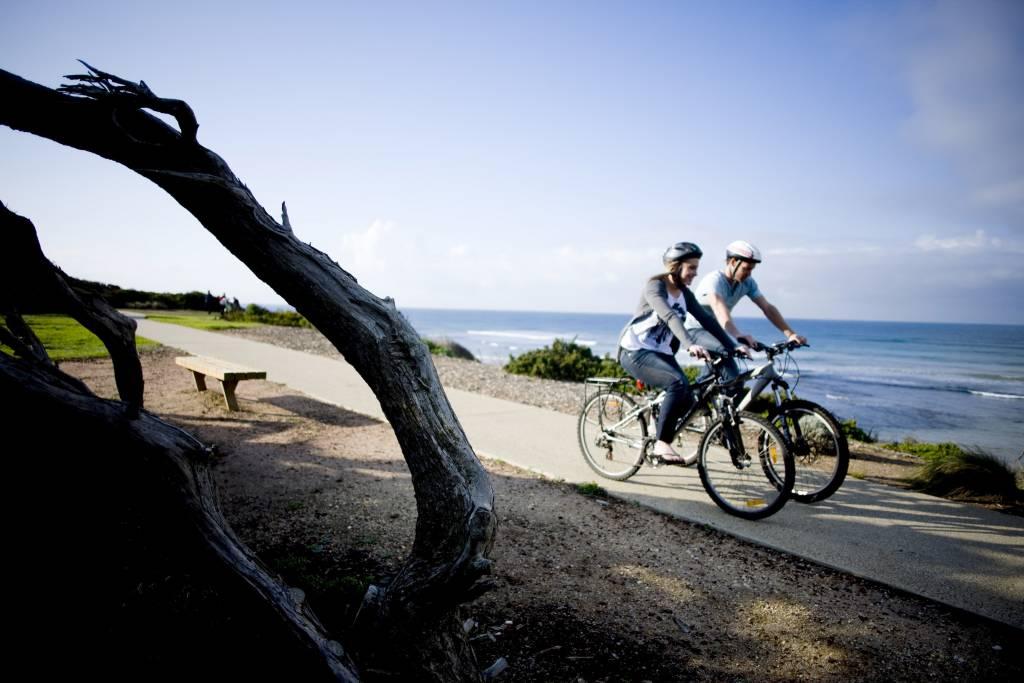 Bike and walking tracks on the Surf Coast