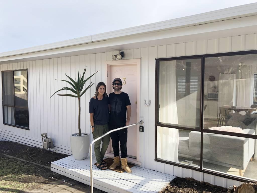 torquay renovation, church estate, white weatherboard, beach house, torquay house,