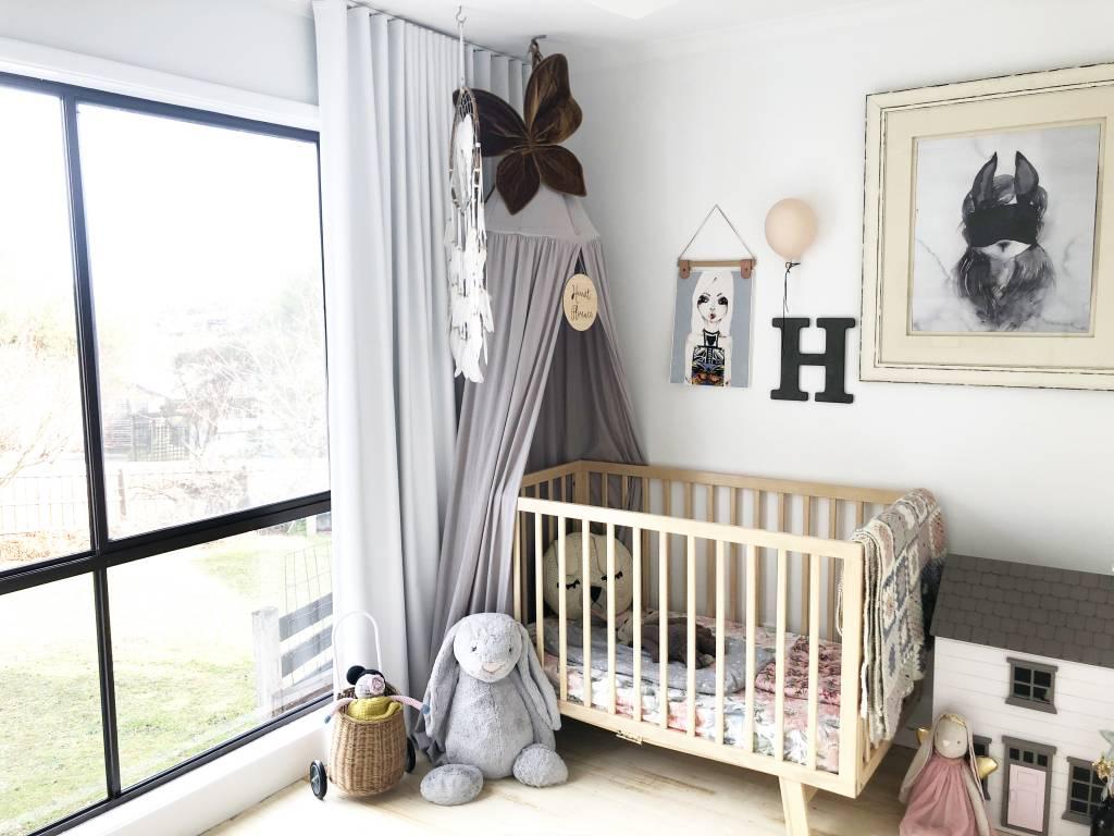 natural nursery, baby bedroom torquay, torquay nursery, styling for nursery, torquay stylist, babies room